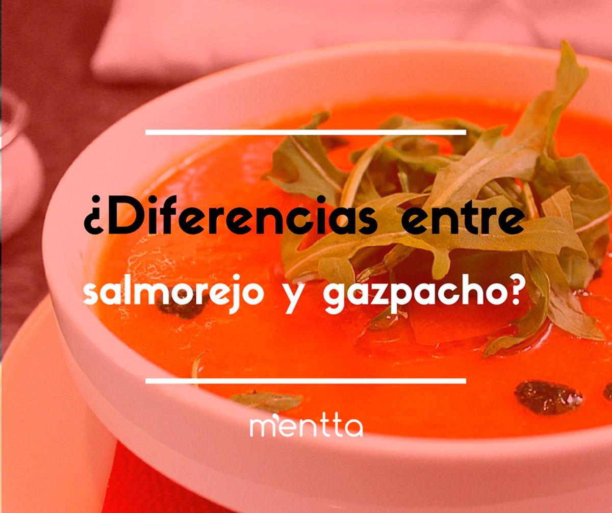 Las 3 Diferencias entre el Gazpacho y el Salmorejo