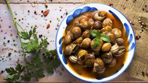 recetas caracoles